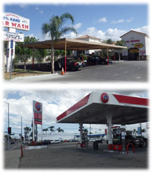 Los Angeles County Car Wash and Gas Station